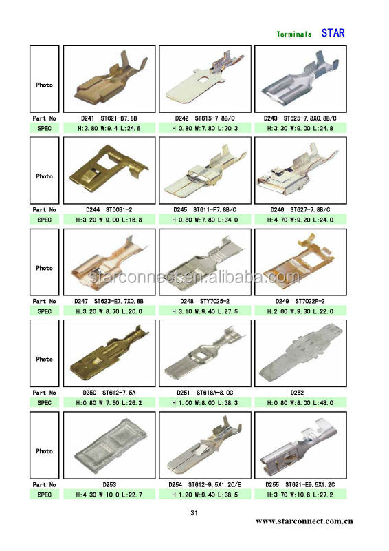 Image Result For Types Of Car Electrical Connectors