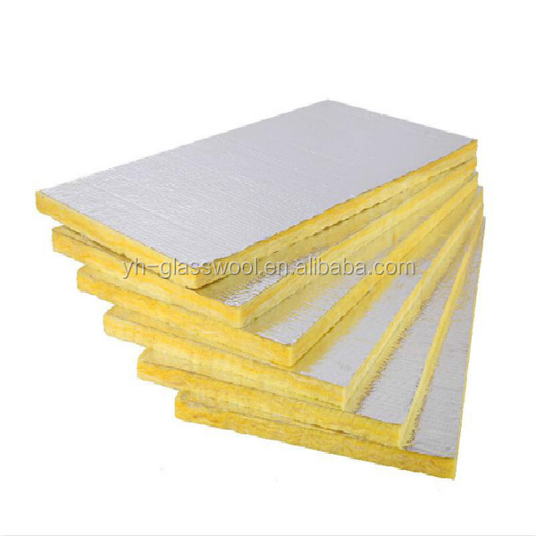 Air conditioner insulation duct board rigid fiberglass for Fiberglass wool insulation