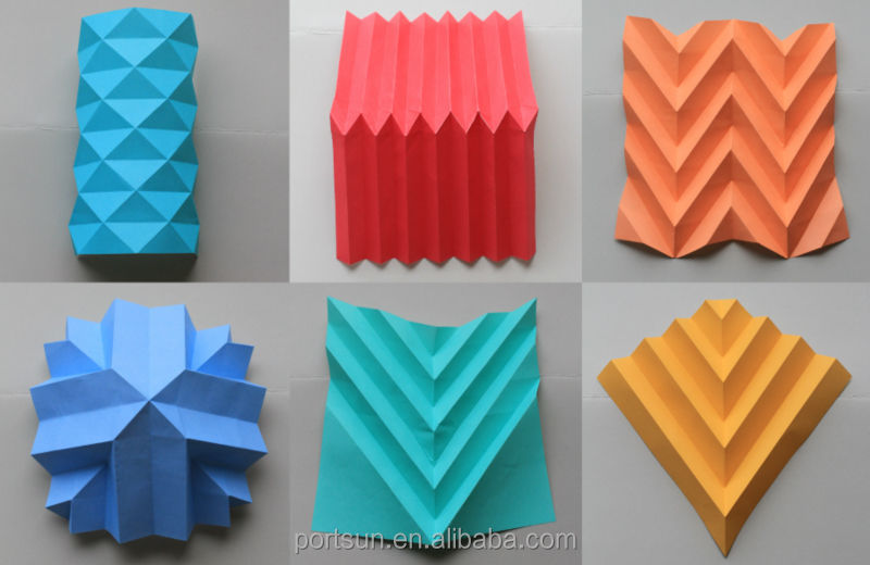Paper Craft For Kids With Folding Paper - Kidscrafts