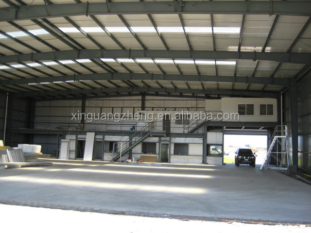 easy-install steel structure helicopter hangar