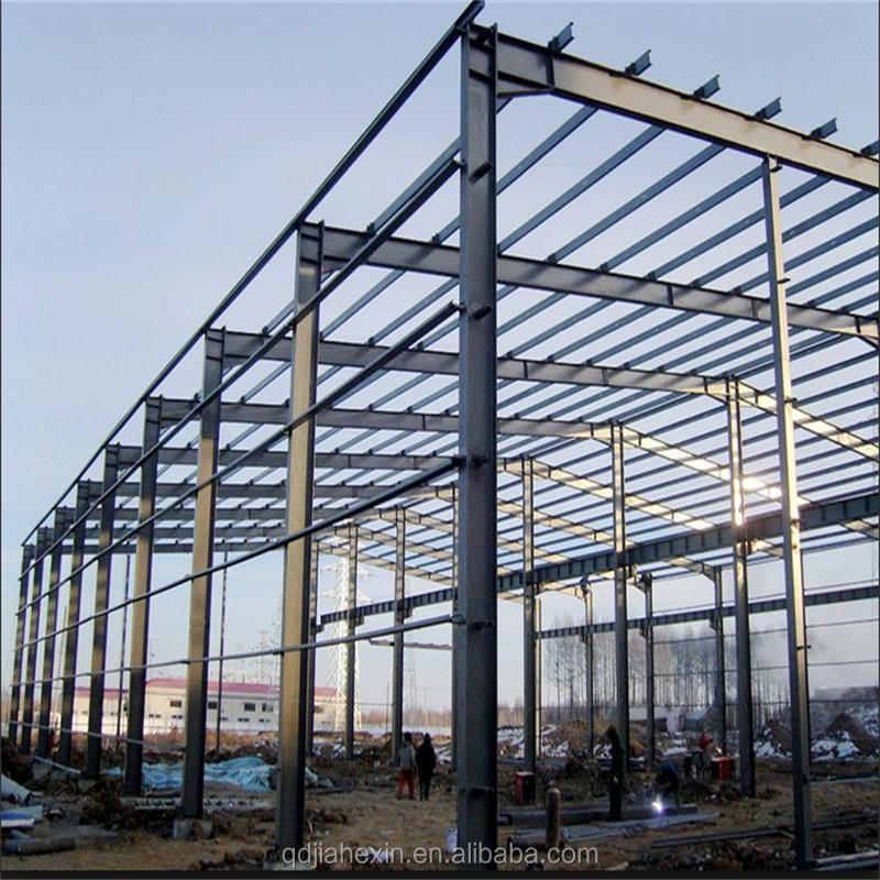 Qingdao Low Cost Pre Engineered Long Span Steel Structure