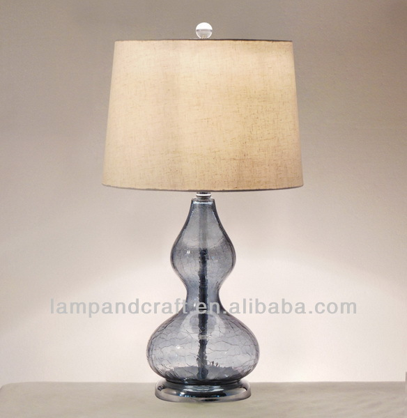 Chinese Style Jingdezhen Ceramic Flower Table Lamp For Out Door ...