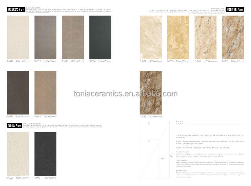 Tonia Slim Ceramic Tiles Living Room Design