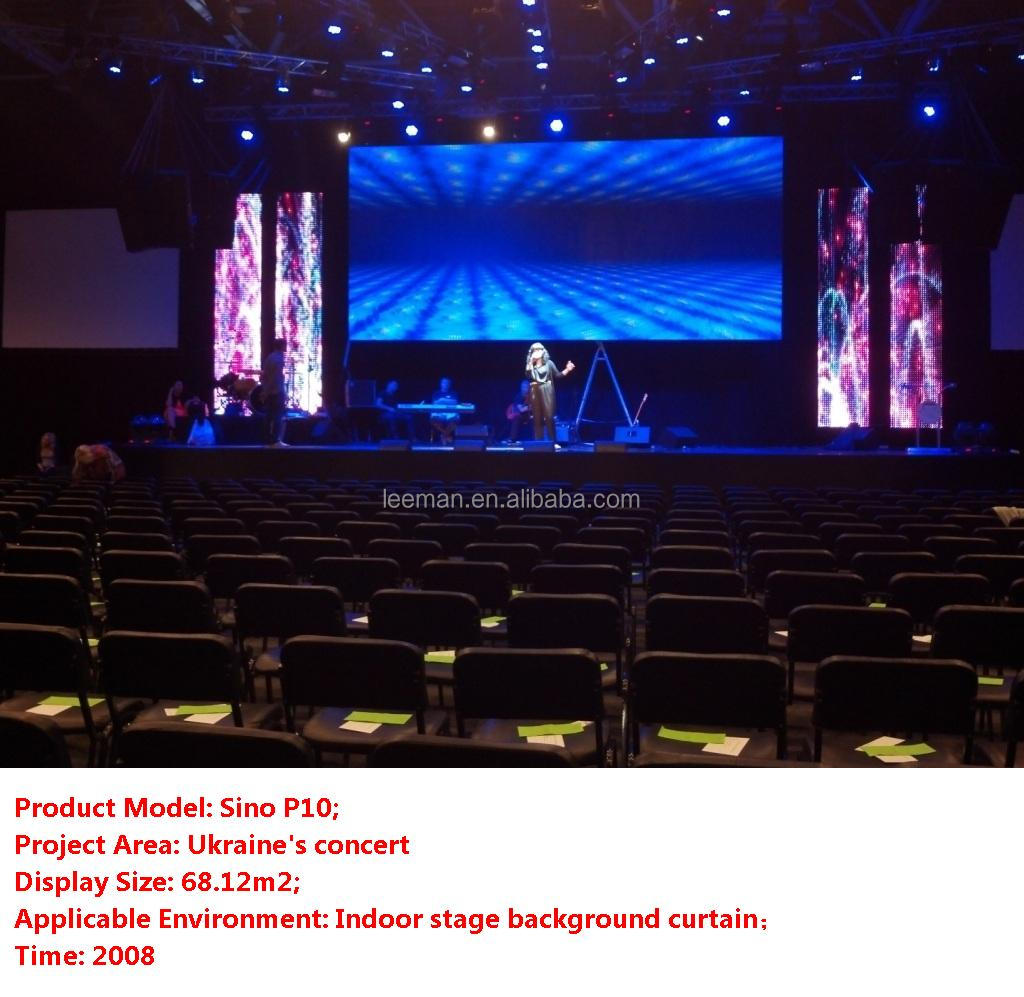 Led curtain concert - Leeman P5 Concert Stage Background Video Ledwall Indoor Full Color Flexible Led Mesh Curtain Video