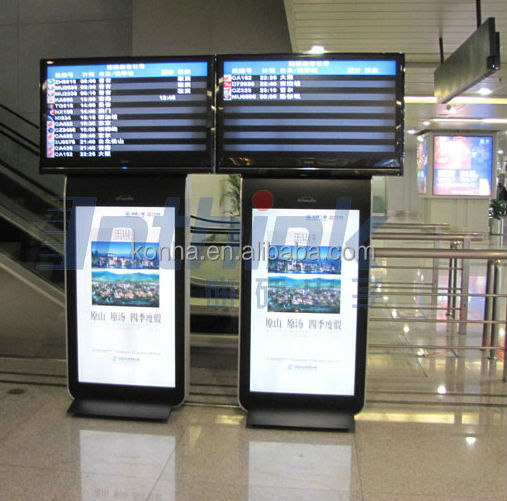 "55"" Indoor Double Screen LCD Advertising Display with Wifi"