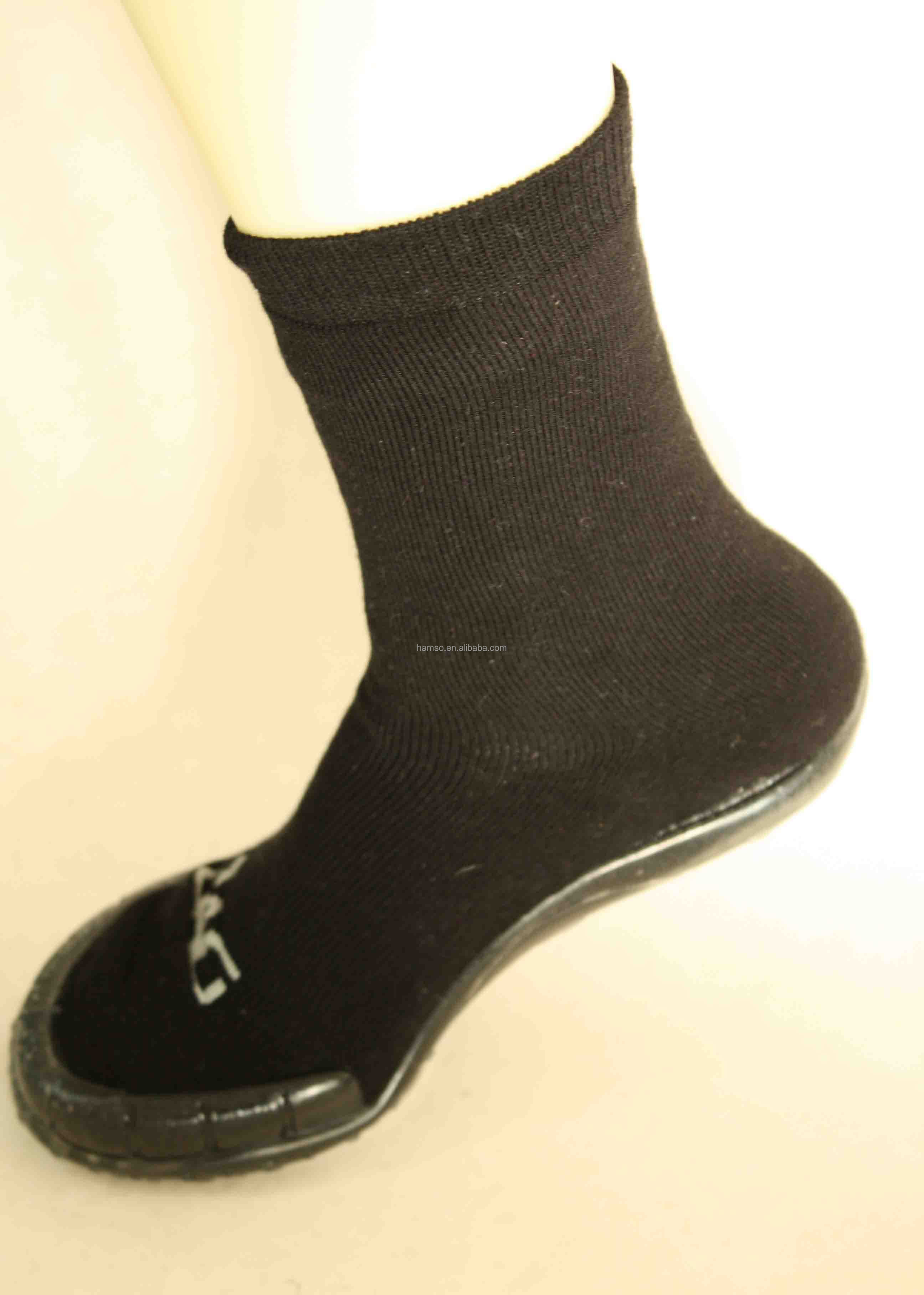 Man Knitted Socks With Rubber Soles Buy Adult Rubber Sole Socks