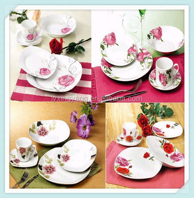 2014 new design dinner set  south african style dinner set tablewaresquare designed dinner  sc 1 st  Alibaba & 2014 New Design Dinner SetSouth African Style Dinner Set Tableware ...