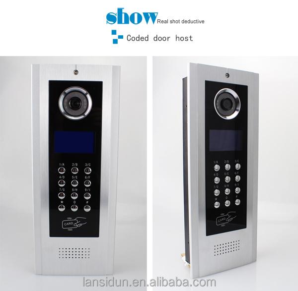 2016 Multi Apartment Video Door Phone Intercom System With ...