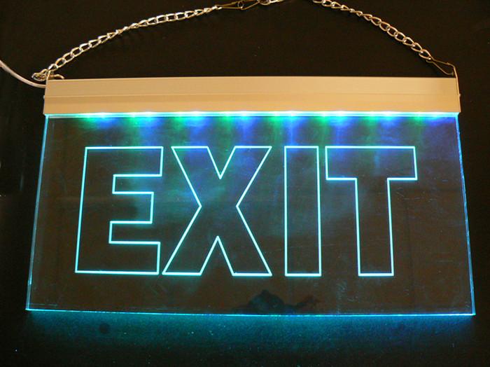 Led Lighting Sign Board / 12v Led Sign / Exit Sign