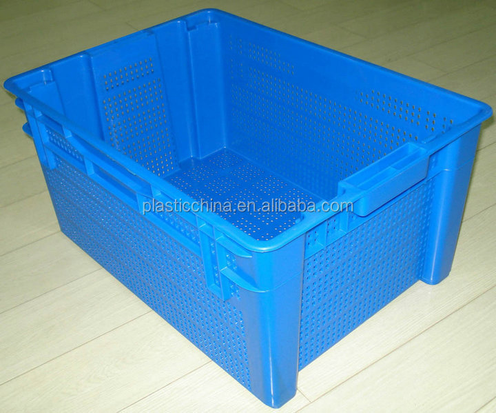 20kg mesh crate warehouse plastic storage bins plastic storage box