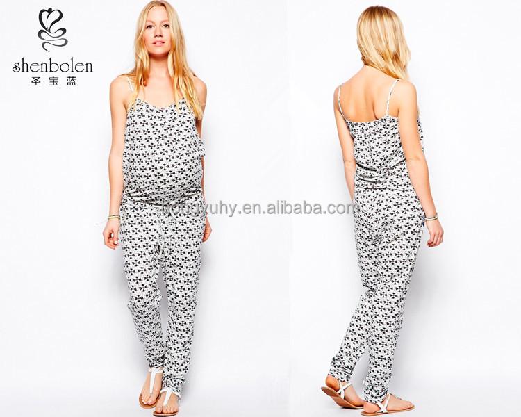 411b015eba5f in stato di gravidanza tuta stampato abbigliamento casual per le donne  incinte