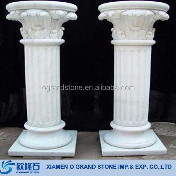 decorative roman stone column hollow pillars - buy decorative