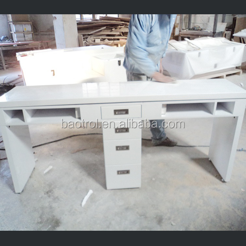 Ultra luxury manicure table new modern salon nail table buy new modern salon nail table nail - Table bar salon ...