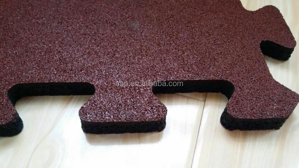 Nuova generazione in gomma piastrelle per pavimenti piastrelle