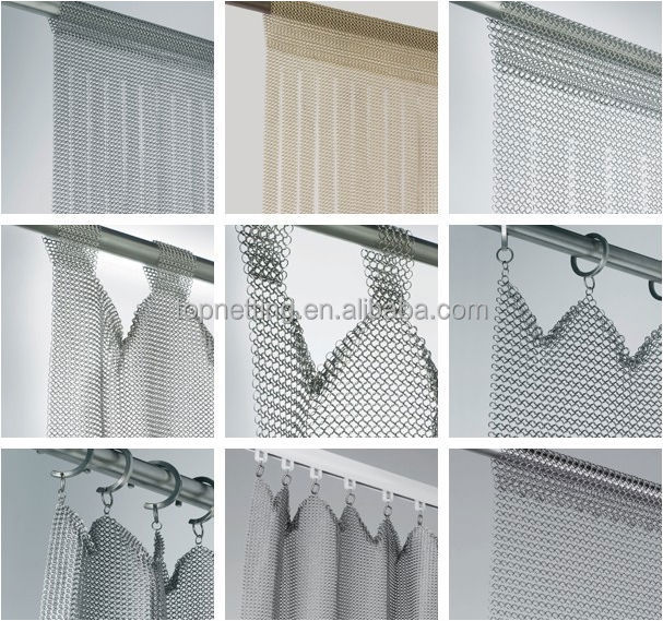 Curtains Ideas chain mail curtains : Gold Chain Mail Mesh Curtains/silver Ring Mesh Curtains - Buy ...