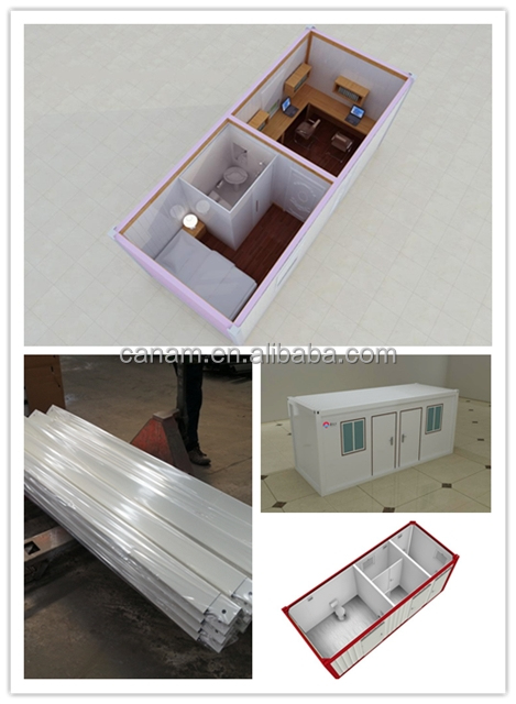 Prefab steel structure container house for sale