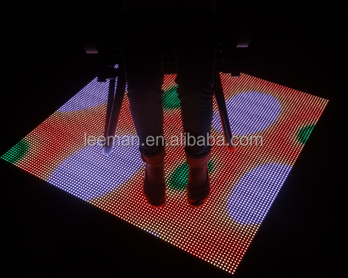 interactive led dance floor sign /panle/screens/wall portable dance floor