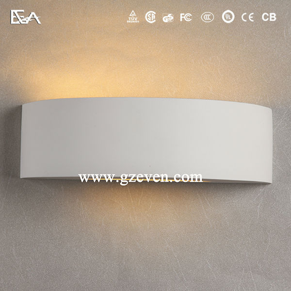 Gypsum Wall Light/led Wall Light/up And Down Led Plaster Wall ...