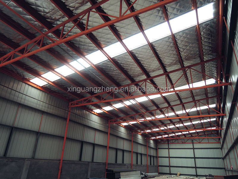 prefabricated steel structure warehouse & workshop design, installation