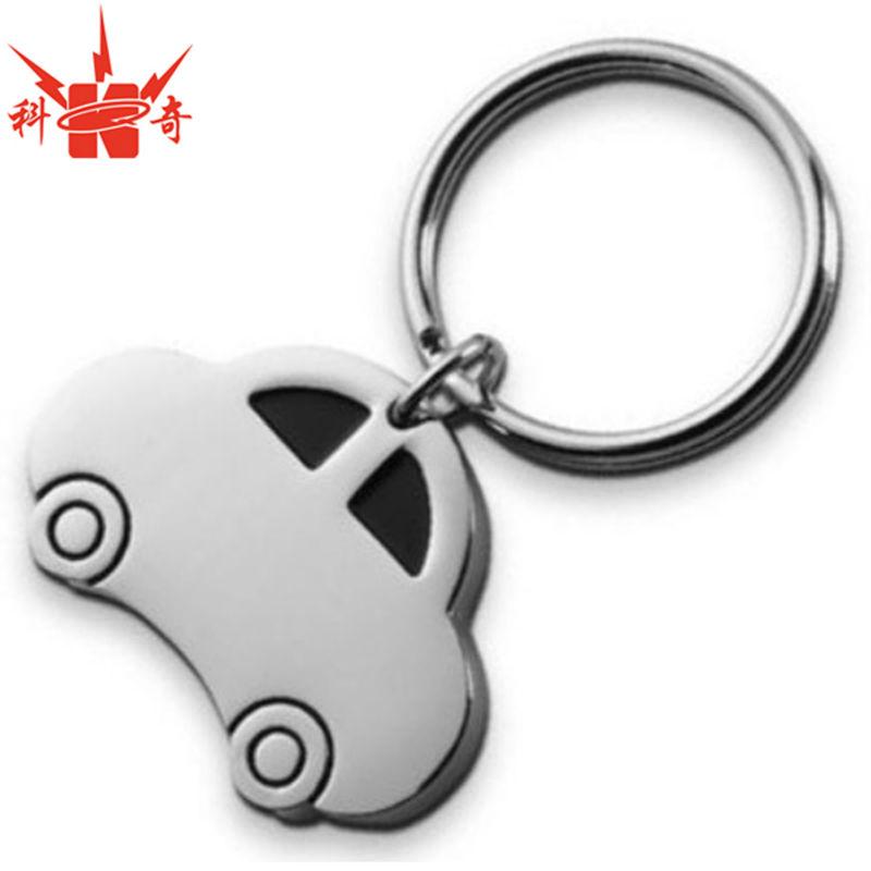 Personalized Car Polished Silver Metal Car Keychain - Buy Car ... 1bf9c273ded5