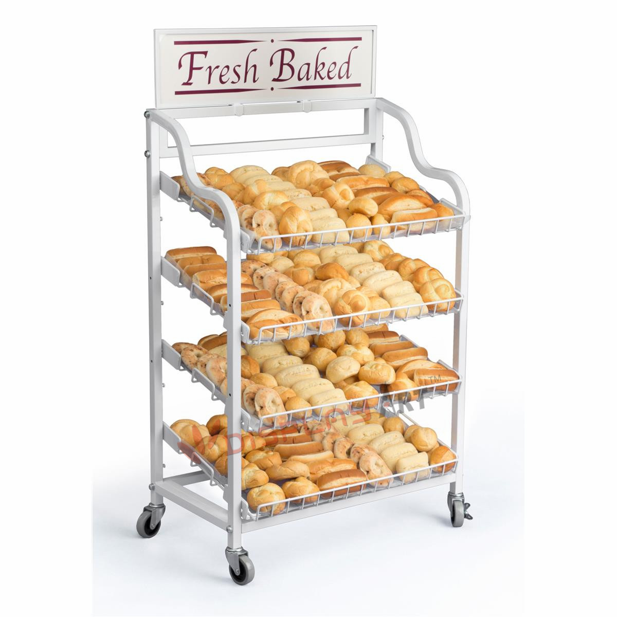 Bread Display Rack For Retail Store And Bakery - Buy Bread ...