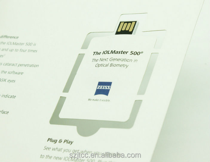 Environmental Paper Card Usb/ Business Usb Card/ Plastic Pen Drive ...