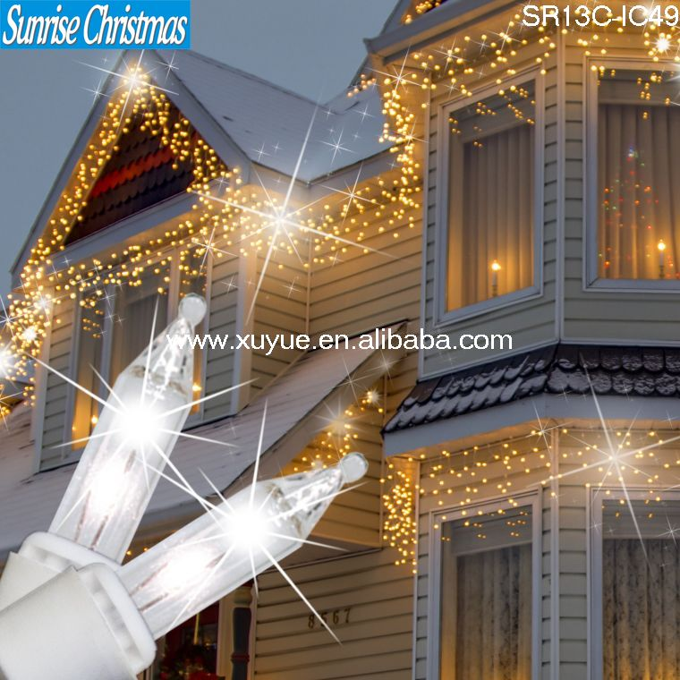 led christmas icicle lightled falling icicle lightled dripping icicle light - Led Dripping Icicle Christmas Lights