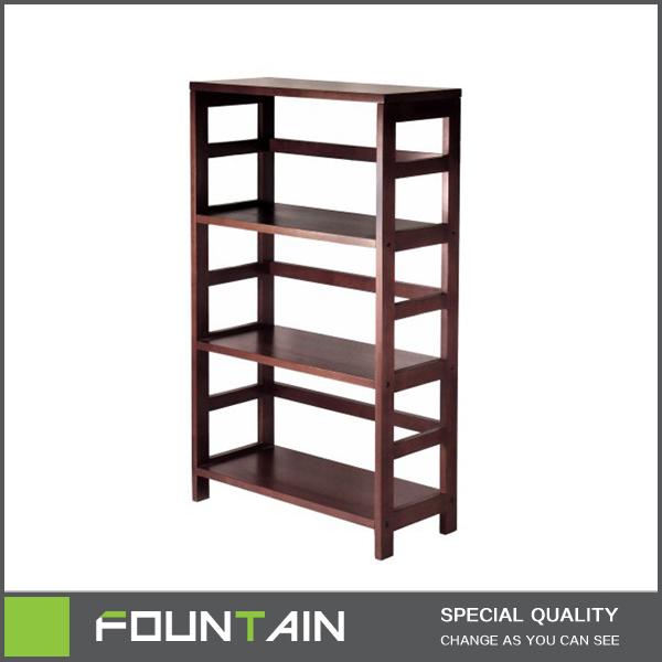 Moderne Holz Braun Bücherregal Im Wohnzimmer Niedrigen Verwendet Bibliothek  Bücherregal