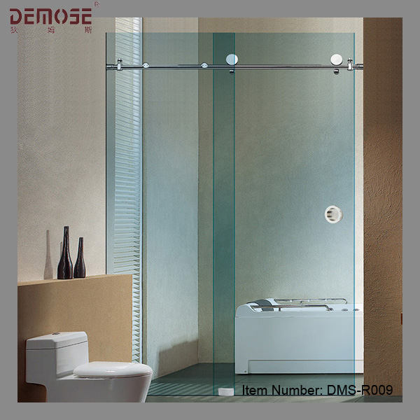 Sliding glass frameless shower doors for sale buy for Large sliding glass doors for sale