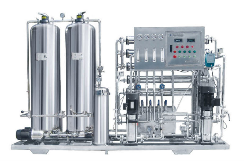 Plc Automatic Control Ss Pipe Ro Water System For