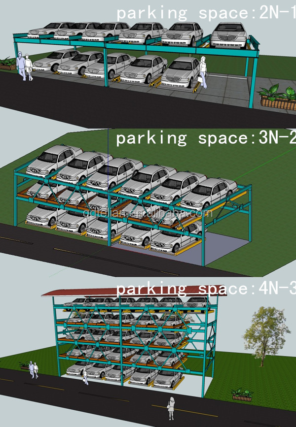 Smart Parking Lift Rotary Car Parking System