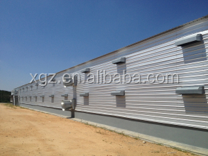commercial chicken house
