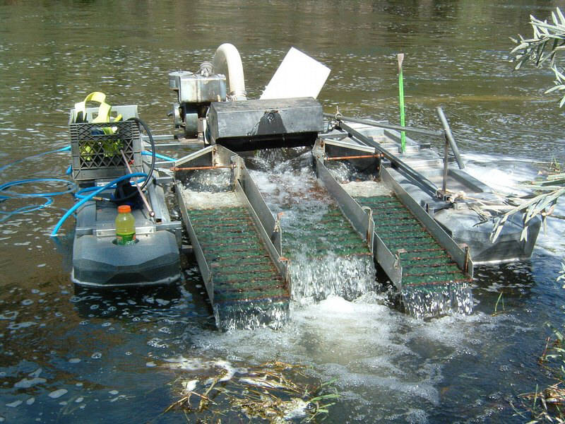 Small Gold Mining Dredges : Beneficiation river mini gold dredge ship in china buy