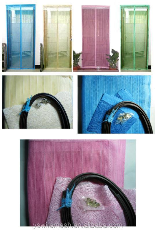 DIY Insect Proof Fiberglass Door Screen Curtain/Mosquito Net Door ...