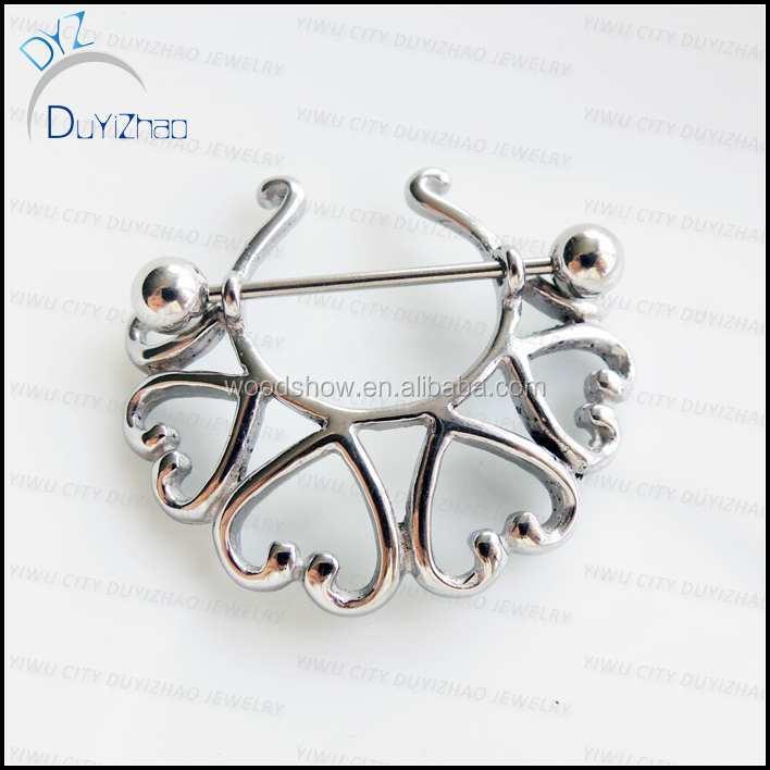 Nipple stretching jewelry piercing jewelry buy nipple for Pierced nipple stretching jewelry
