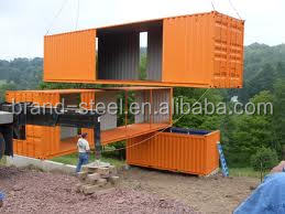 Architecture Design Shipping Prefabricated Container Houses