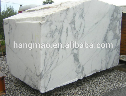 High Quality White Calacatta Italy Marble Block Price