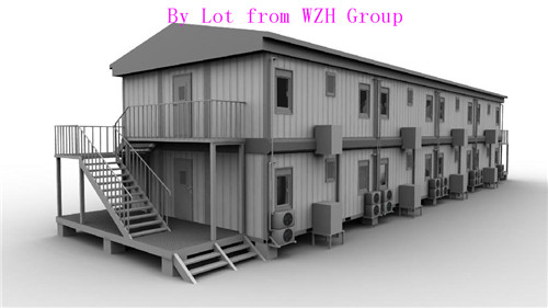Engineering Prefab Houses Made In China Container House