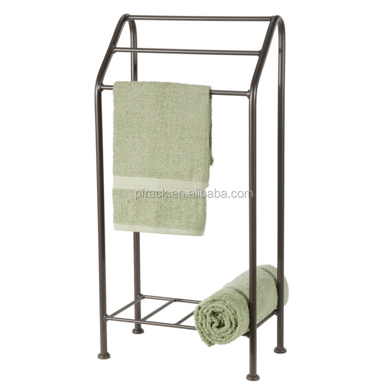 Wrought Iron Standing Towel Rack Floor Racks Stand Free Product On Alibaba