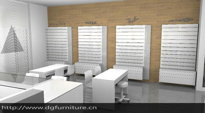 Sunglasses shop shopping center for Optical store designs interior