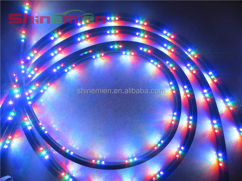 7 Color Led Strip Under Car Tube Underglow Underbody System Neon ...