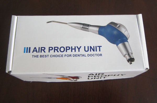 Aria Flusso Denti Lucidatura Igiene Prophy Jet 4 Fori Blu