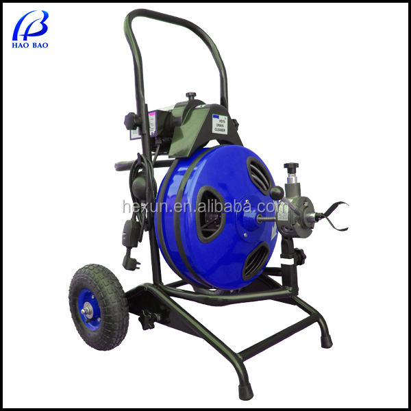 commercial drain cleaner machine