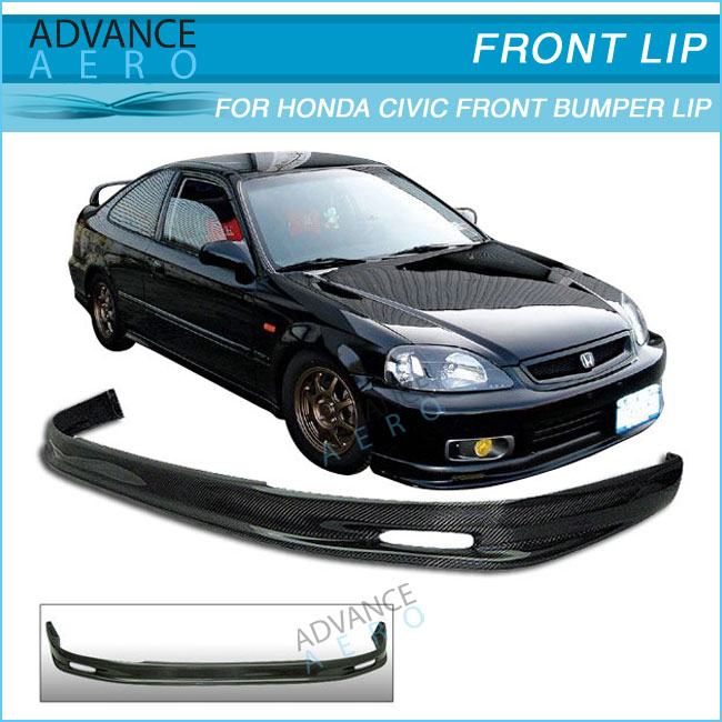 For 96 97 98 Honda Civic Ek9 Ek Carbon Fiber Mug Style Cf Auto ...