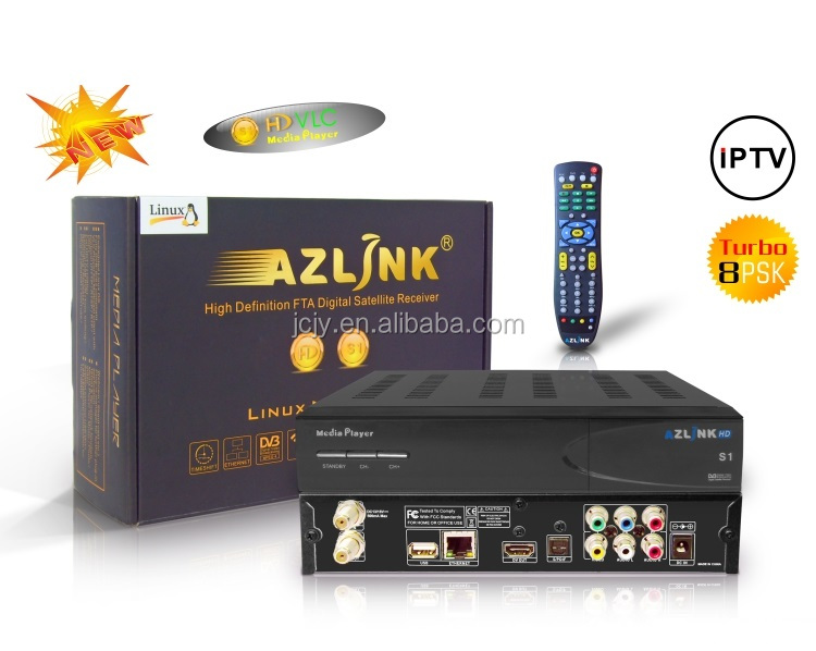 Stocks For North America Azlink Hd S1 Fta Full Hd Vlc Media Player Receiver  With Jb200 And Wifi And Dvb-s2 - Buy Hot Sale Azlink Hd S1 For North