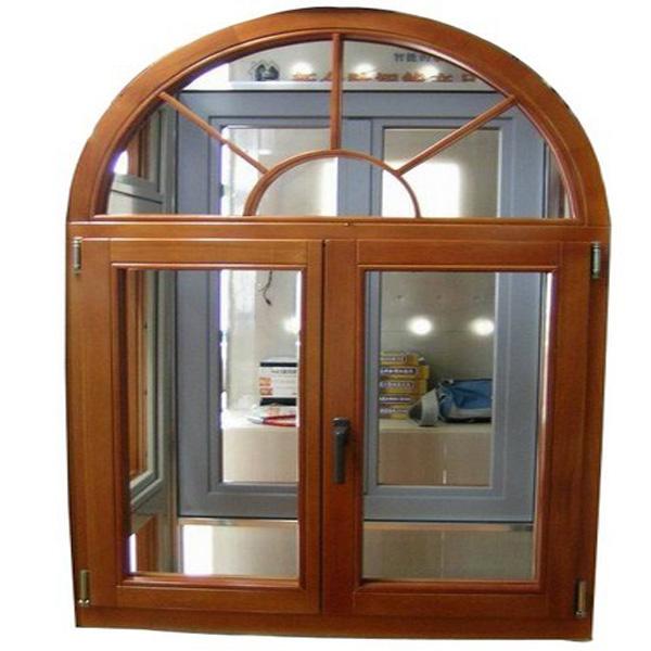 Walnuts Color Arch Window Grill Design Half Moon Windows