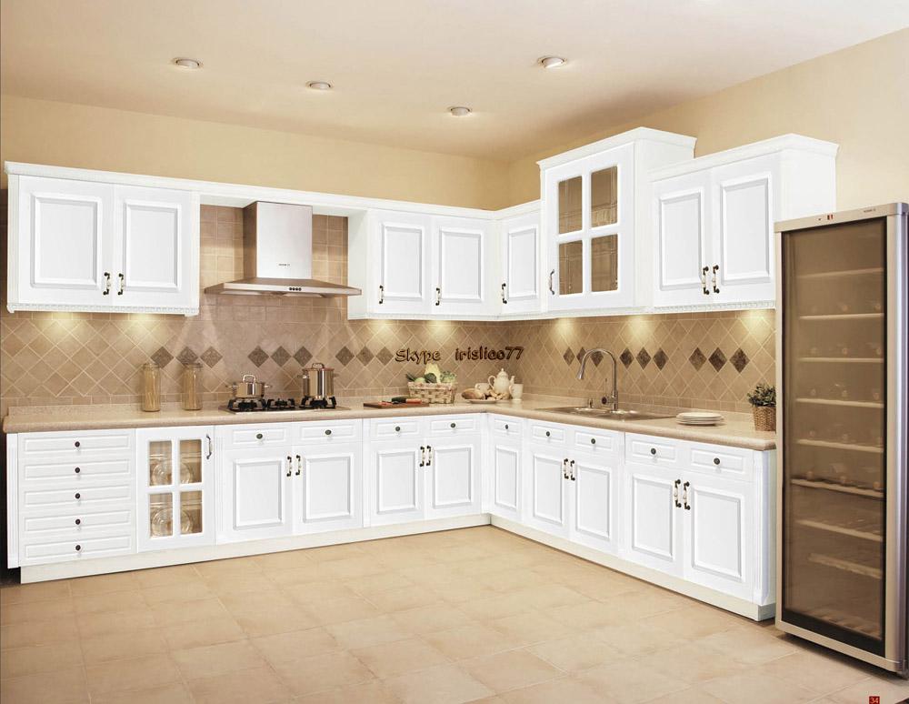 China Made Kitchen Cabinets Pvc025