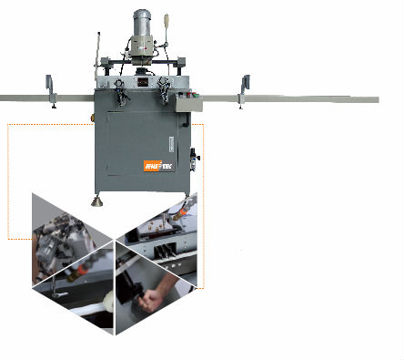 High precision upvc window and door machine copy router