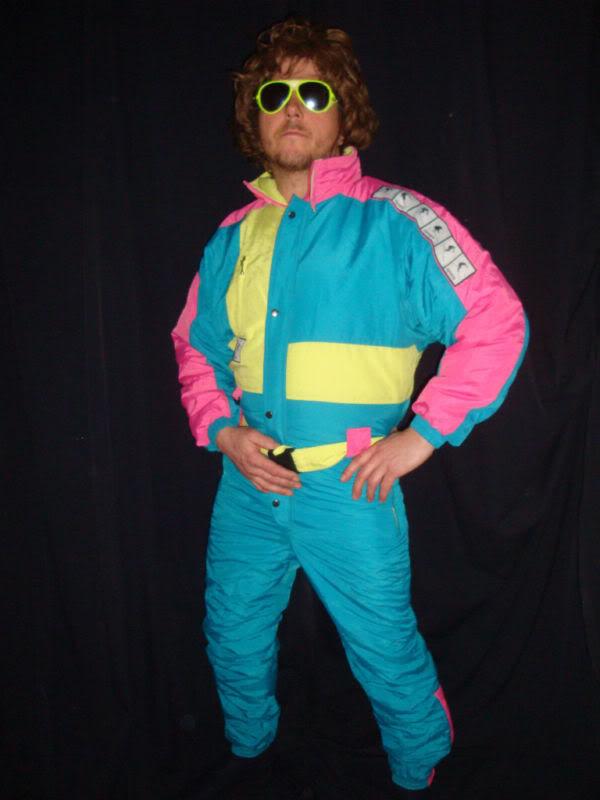 2014 fashion vintage ski jumpsuit for men and women