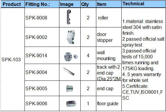 Adjustable 2m Height Standard Sliding Glass Door Size - Buy ...
